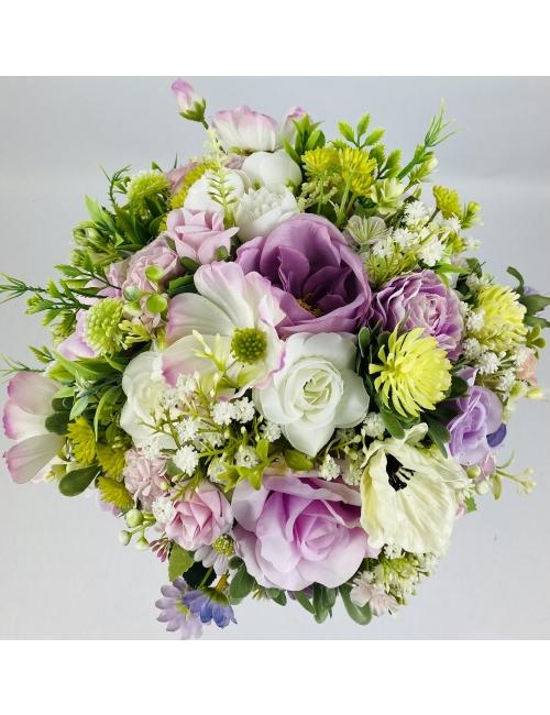 Buchetar-flori de matase B190